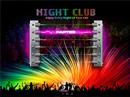 Night Club Dynamic Flash Template