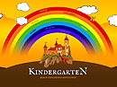 Kindergarten World Easy flash template