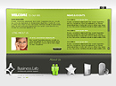 Business Easy flash template
