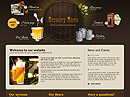 Brewery co. Website template