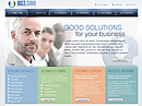 Business group Website template