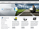 Communication Website template