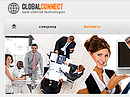 Item number: 300110490 Name: Global Connect Type: Website template