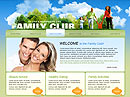Item number: 300110553 Name: Family Club Type: Website template