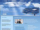 Solaris Website template
