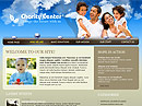 Charity Center Website template