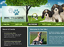 Dog Training Website template