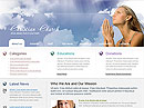 Christian Church Website template