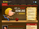 Bowling Club - Website template, Bowling website templates