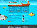 Fishing Website Template