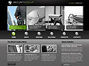 Security Service Website template