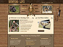 Hunting Club Website template