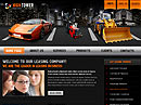 Leasing Website template