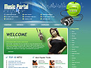 Item number: 300110108 Name: Music portal Type: Website template