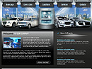 Cars rental Website template