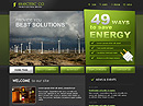 Electric co. Website template