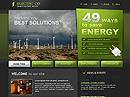 Electric co.Website template