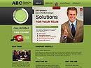 Financial groupWebsite template