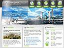 Industrial groupWebsite template