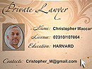 Private Lawyer Flash intro template