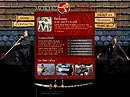 Karate club Flash template