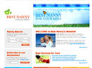 Best Nanny Website template