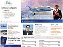 Airlines Company Website template