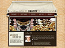 Bakery Flash template
