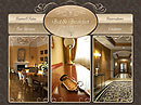 Bed and Breakfast Flash template