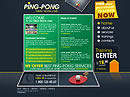 Ping-pong club Flash template