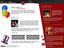 Events planner Flash template