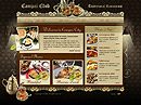 Restaurant Flash Site Template