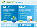 Item number: 300110466 Name: General Solutions Type: HTML template