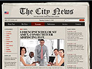 Newspaper HTML template