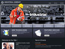 Item number: 300110560 Name: Industrial Company Type: HTML template