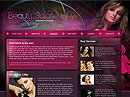 Beauty Salon html dreamweaver template