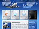 Airline html dreamweaver template