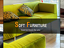 Soft Furniture - HTML template, INTERIOR DESIGN & FURNITURE website templates