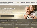 Retirement Planning HTML template