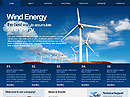 Wind Energy HTML template
