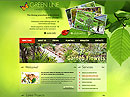 Landscape Design - HTML template, Agriculture  flash templates