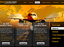 Private Airline HTML template