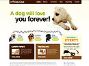 Item number: 300111217 Name: Dog Club Type: HTML template