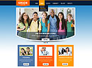 College - HTML template, SOCIETY FLASH website templates