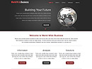 WorldWide Business - HTML template, HTML website templates