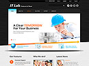 IT Laboratory - HTML template, frontpage flash templates
