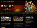 S.P.C.A. HTML template