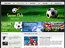 Item number: 300110115 Name: Soccer club Type: HTML template
