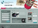 Auto dealerHTML template