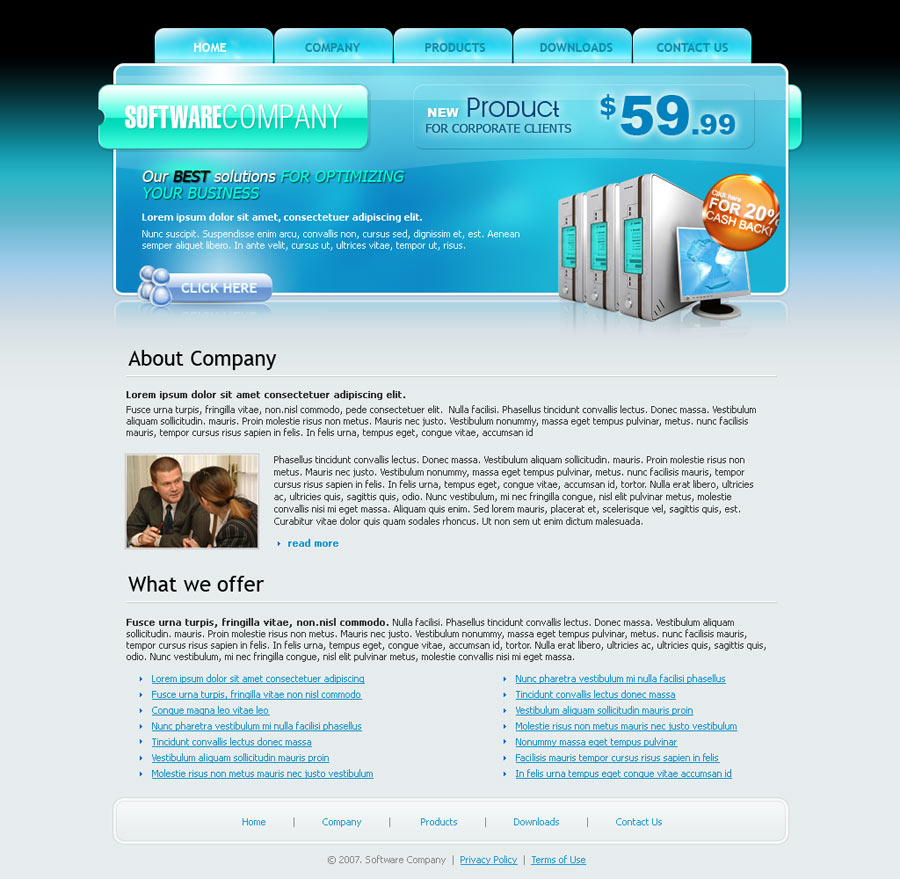 Html about us page template gallery template design ideas for Contact us template free download